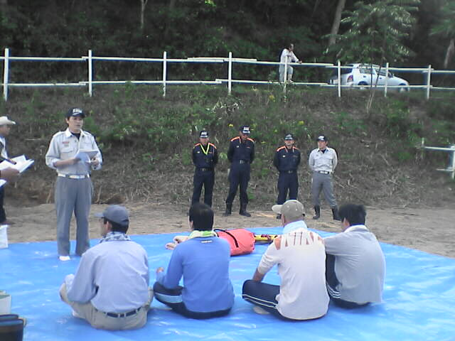 消防の救急訓練!