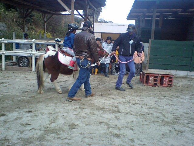 いのちのプロジェクト乗馬体験!