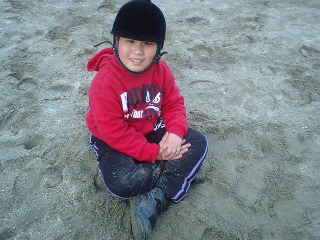 砂馬場で遊ぼう!