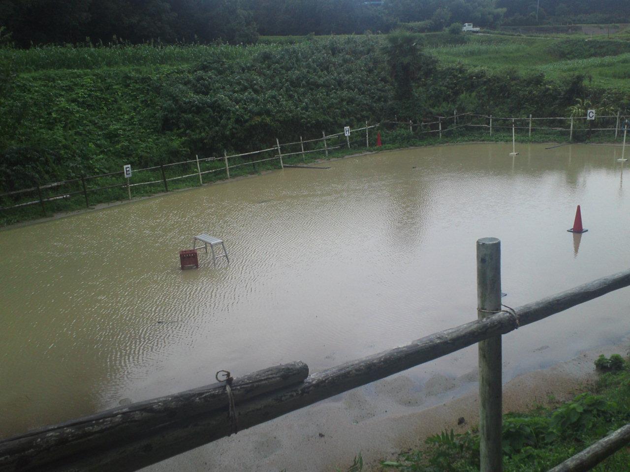 記録的大雨!
