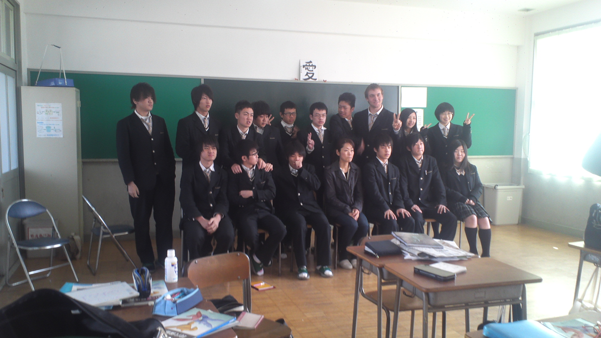 直ちゃん先生、柳学園で出張授業!