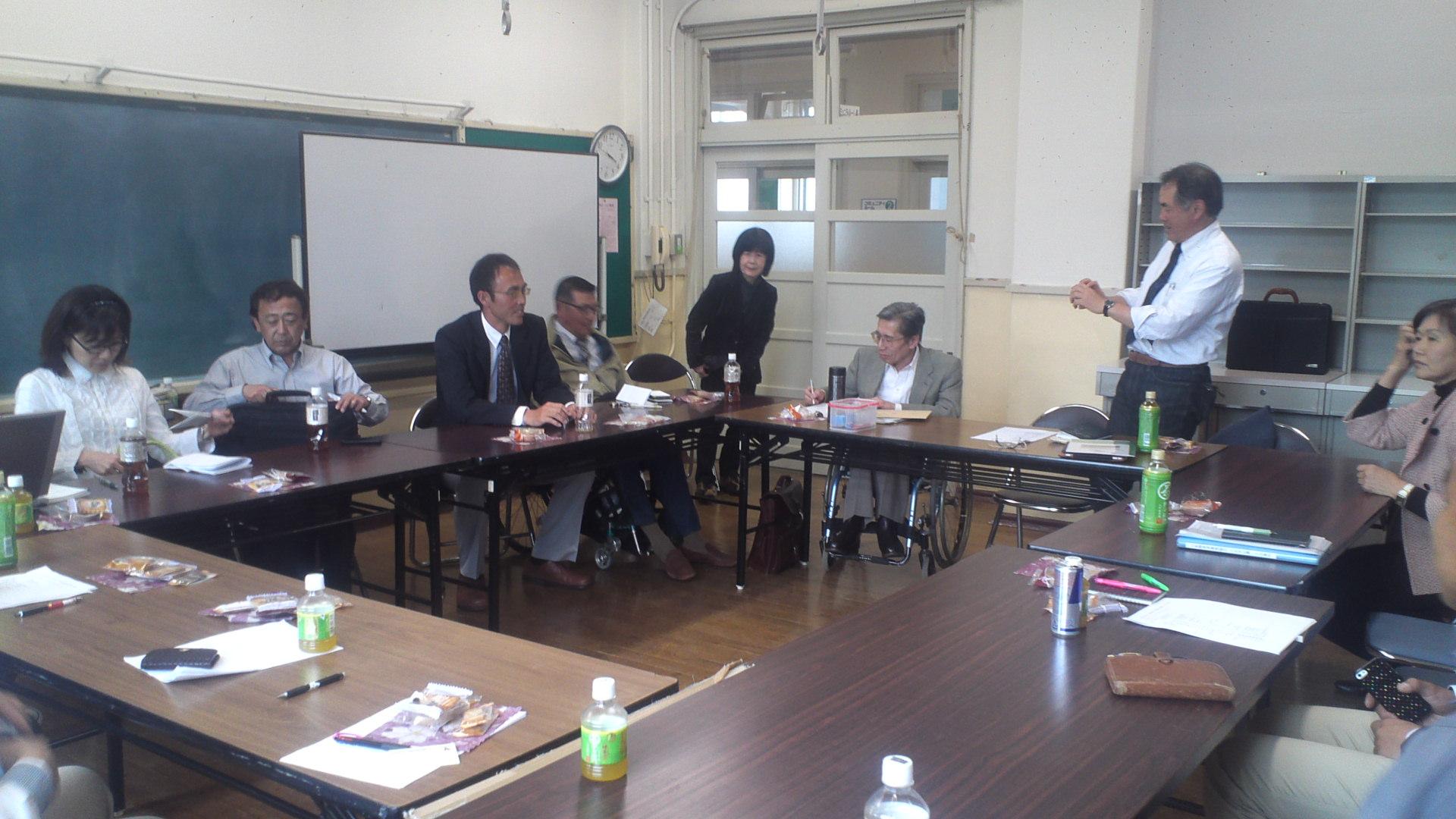 日本障害者乗馬協会理事会